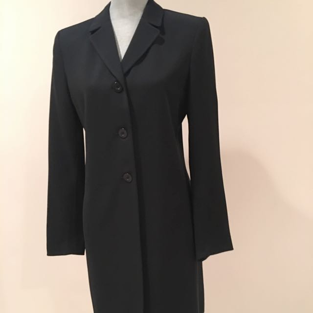 """Style"" Long Blazer Size 10"