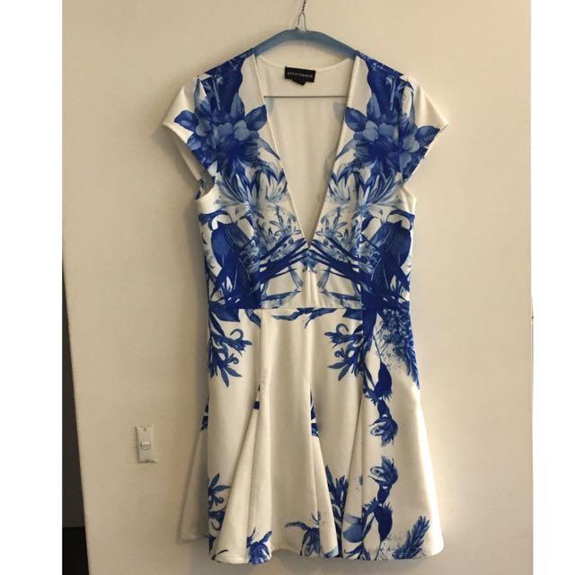 Stylestalker Blue Me Away Dress Size: M