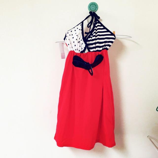 🔱全新🔱V領綁帶洋裝