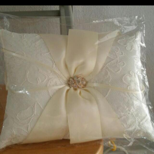 Wedding Ring Pillow Design Craft Others On Carousell