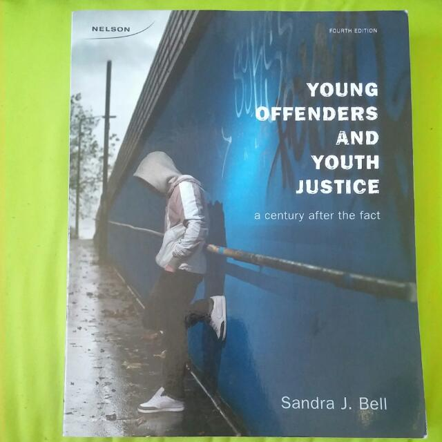 Young Offenders And Youth Justice 4th Ed By Sandra Bell