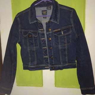 Parasuco Dark-Washed Jean Jacket
