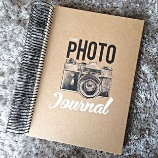 PRICE DROPPED: New Photo Journal