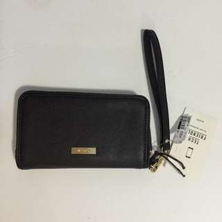 Aldo Black Tech Friendly Wallet