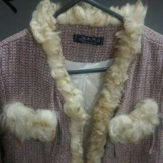 Pre Loved Jacket With Fur