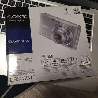 Black SONY DCS-W310 cyber-shot camera