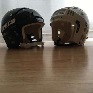 KIDS HOCKEY HELMETS