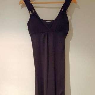 Black Maxi Dress Size S