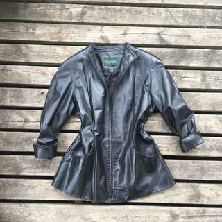 Danier Women's Mandarin Leather Jacket