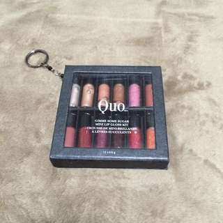 QUO Mini Lip Gloss Kit