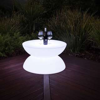 LED Coffee Table Round