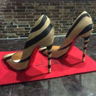 Christian Louboutin So Kate 120mm Pony Hair Pumps