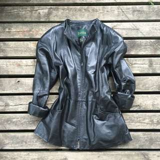 Women's Danier Mandarin Leather Jacket