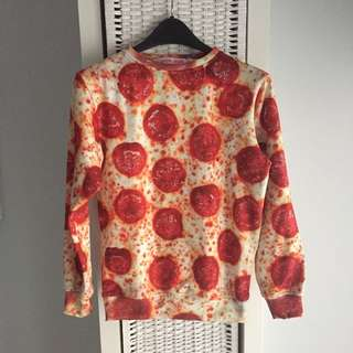 Shop Jeen Pepperoni Pizza Sweater