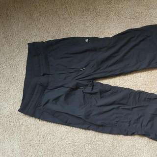 Lululemon Yoga /track Pants Size 4