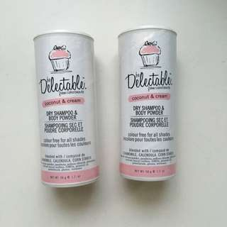 Delectable Dry Shampoo