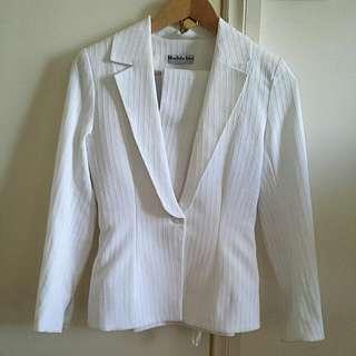 Vintage Designer Blazer Suit