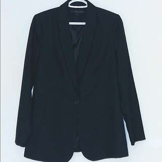 Black Suit Jacket, Willow&Thread, Size 5