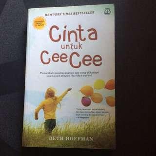 Buku Novel Cinta Untuk Cee Cee