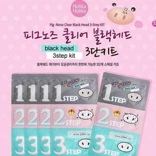 Holika Holika Pig Nose Clear Blackhead 3 Step Kit