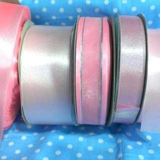 🚚 ❇特價求售❇粉色緞帶
