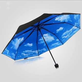 勇之助的藍天白雲傘