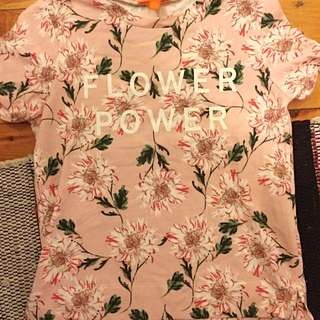 Flower Power Short Sweater