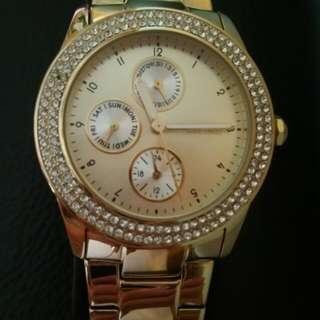 Esprit Ladies Gold Watch