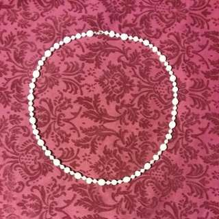 Hand Made Freshwater pearl necklace