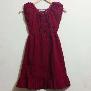 MAROON BABYDOLL REPRICED