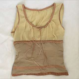 Lovely Sleeveless Top