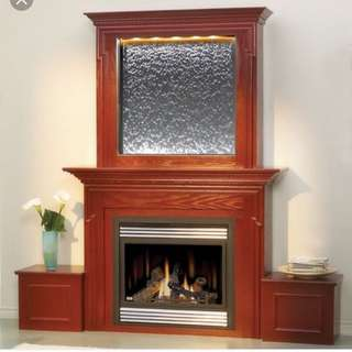 Napoleon Electric Fireplace With Waterfall Feature
