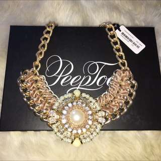 Peeptoe Necklace BNWT