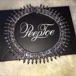 Peeptoe Spike Necklace