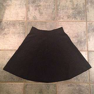 Black Dress Skirt