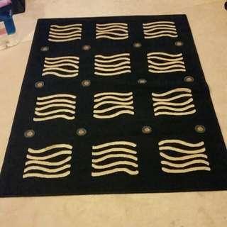 Large Navy Blue Carpet