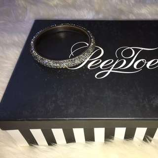 Peeptoe Grey Swap Ski Bangle