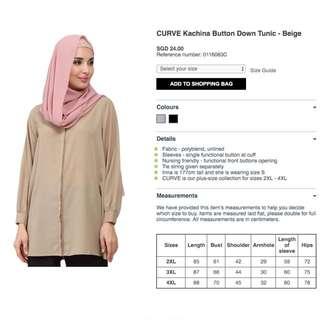 Poplook 3XL blouse plus size