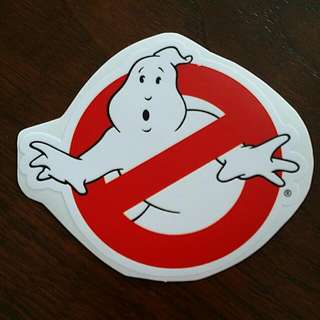 Ghostbuster Stickers!!