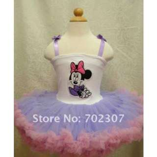 Minnie 7 layers tutu dress