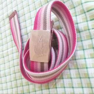 Authentic LACOSTE Belt (Expanded) bought In Japan