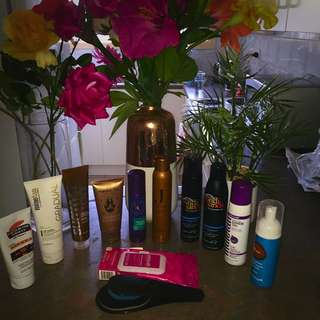 Mixed Self Tanning Products