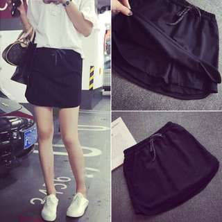 New Easy Match Solid Straight Short Pant
