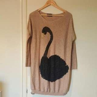 Knit tunic jumper