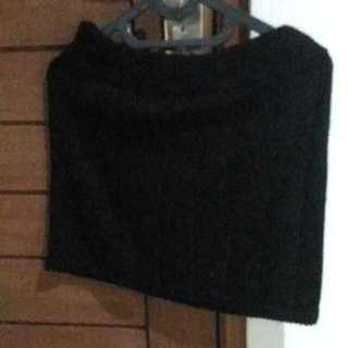 Black Knitted Skirt