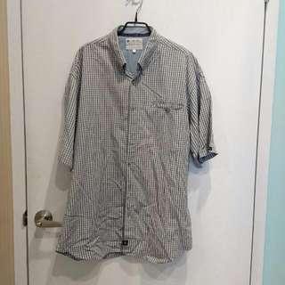 CLUMBIA休閒款短袖襯衫