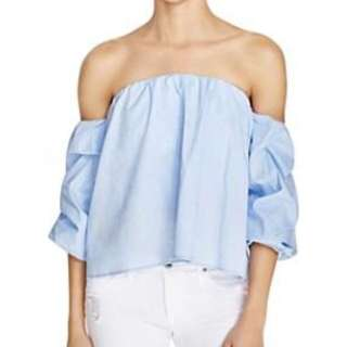 Bardot Sky Blue Top