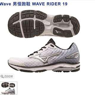 Mizuno Wave Rider 19 男慢跑鞋