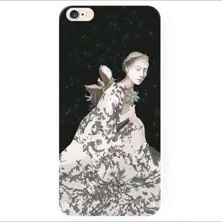 女神的沈思iPhone手機殼(A)