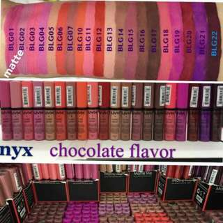 nyx lipcream chocolate flavor
